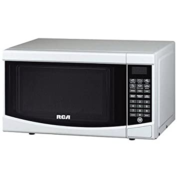RCA 0.7-cu ft Microwave Model RMW733-BLACK Color White