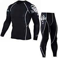 haoricu Men Sport Suit, Clearance Man Fitness Sports Gym...
