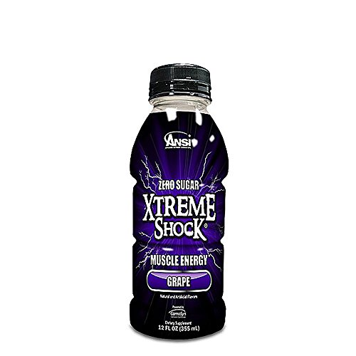 Ansi Xtreme Shock Muscle Energy Drink - Grape