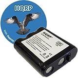 HQRP Phone Battery for Panasonic KX-TG2257 KX-TG2257B KX-TG2257PW KX-TG2257S KX-TG2267 KX-TG2267B Cordless Telephone plus Coaster, Office Central