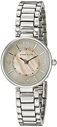 Anne Klein Women's AK/1871TMSV Silver-Tone Bracelet Watch