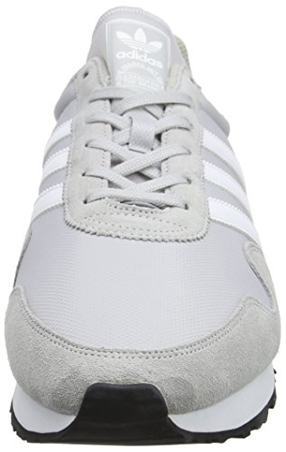 adidas Haven - Tobillo bajo Unisex adulto Gris (Lgh Solid Grey / Footwear White / Clear Granite)