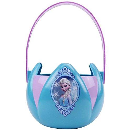 Frozen Elsa Plastic Bucket by Disney (Frozen Trick Or Treat Bucket)