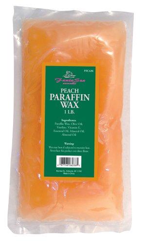 FantaSea Peach Paraffin Wax, 1 Bag (Pack of 3) by FantaSea