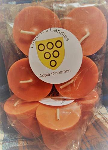 4 pack votives Apple cinnamon
