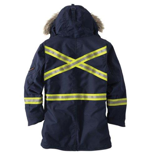 Carhartt Men's 100783 Flame-Resistant Extremes Arctic Parka - Sherpa L - Large Regular - Dark Navy