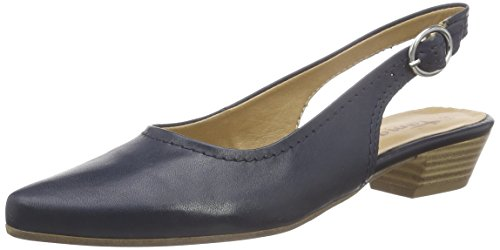 Tamaris 29400, Damen Slingback Pumps, Blau (NAVY LEATHER 848), 37 EU