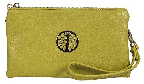 Shop Womens Handbag Cross Pouch Vegan Yellow Shoulder Bag Mustard Style Leather 5 Mini Body Big Purse qU5nxfwEwC