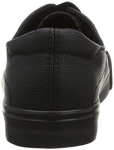 Femme black Look Noir Baskets New 1 Miguel wgx77