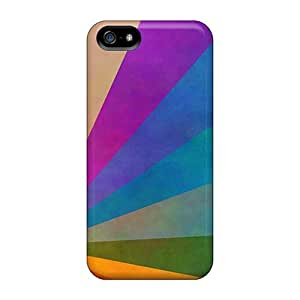 High Quality Shock Absorbing Case For Iphone 5/5s-daft Punk Rainbow