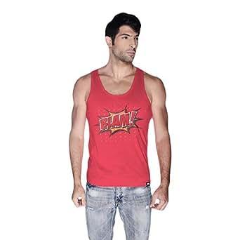 Cero Blam Retro Tank Top For Men - S, Pink