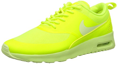 Nike Women's WMNS Air Max Thea Gymnastics Shoes Multicoloured (Volt/Lt Liquid Lime) fJJBt2z7l
