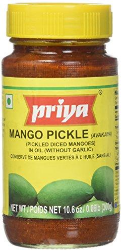 Priya Mango Pickle (Avakaya) - 10.6oz by Priya