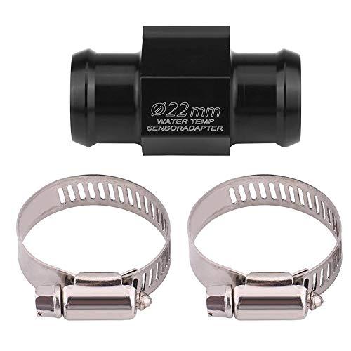 (Motorcycle Water Temp Adapter, Water Temperature Sensor Head Plug Temperature Table Special Sensor Plug Water Temp Adapter (22mm))