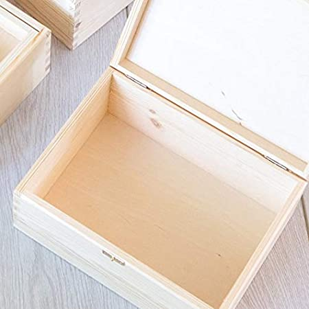Anniversary Presents for Mum and Dad Engraved Wooden Memory Box with Tray Insert Gifts for Parents Wedding Wedding Keepsake Box for Mum /& Dad