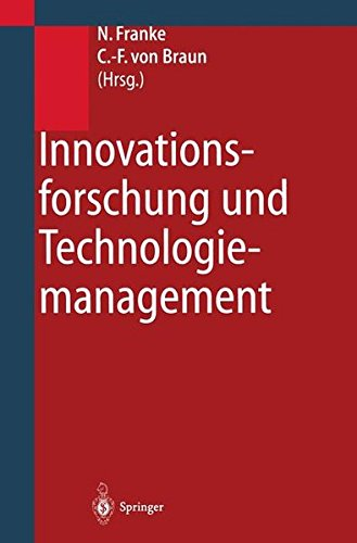 Innovationsforschung und Technologiemanagement