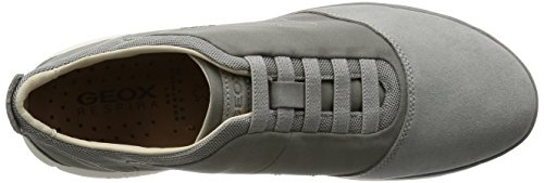 Geox Nebula U Slip 11 Trainers Grey Shoes Stone On A Mens fPfxqwOra