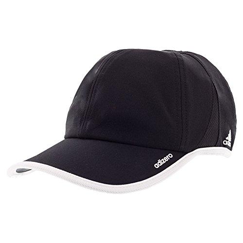 adidas  Men's adiZero II Team Cap Black/White One (Team Hat Cap)