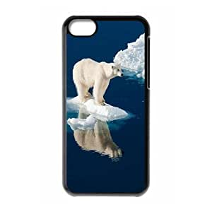 Polar Bears DIY Case for Iphone 5C, Custom Polar Bears Case