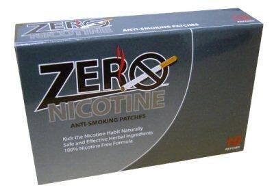 Zero Nicotine Patches