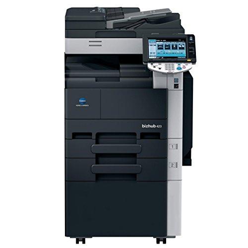 Konica Minolta BizHub 423 Monochrome Laser Multifunction Printer - 42ppm, Copy, Print, Scan, Internet Fax, 2 Trays