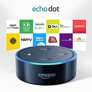 Certified Refurbished Echo Dot (2nd Gen) - Smart speaker with Alexa (Black)