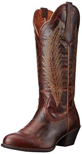 (Ariat Women's Desert Sky Western Cowboy Boot, Sassy Brown, 6.5 B US)