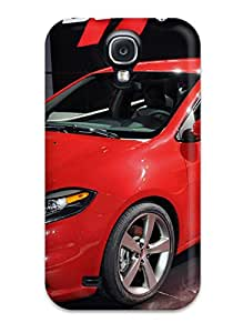 Premium Protection Dodge Dart Exhibit Case Cover For Galaxy S4- Retail Packaging