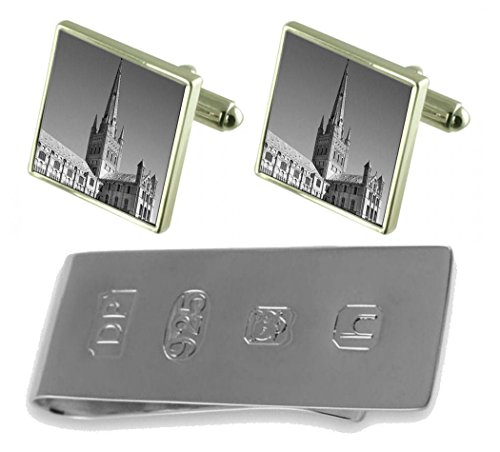 Clip James amp; Norwich Cathedral Bond Money Norwich Cathedral Cufflinks w8nxqB6X