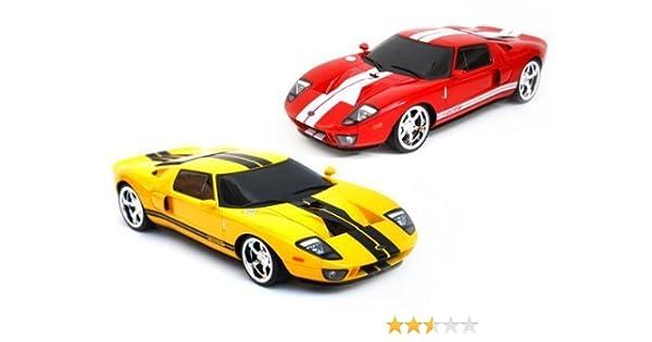 Amazon Com  Radio Remote Control   Ford Gt Sport Racing Rc Car Toys Games