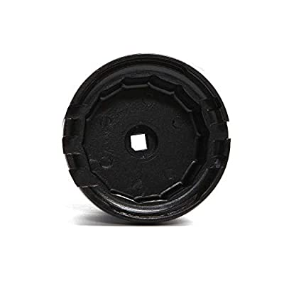 Oil Filter Wrench Cap Removal Tool 64mm 14 Flute for Toyota Lexus Scion 2.0L to 5.7L Engines with Cartridge Style Oil Filter System Housings Fits Camry, RAV4, Highlander: Automotive