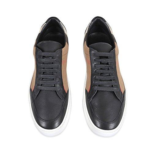 Burberry Zapatillas Para Mujer Beige Check + Nero