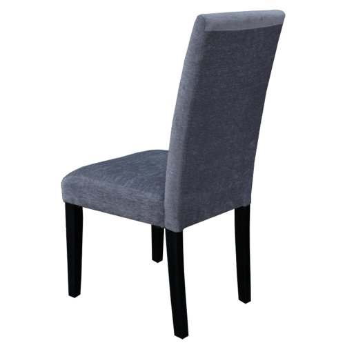 Monsoon Pacific Aprilia Upholstered Dining Chairs Smokey Blue Set Of 2 Chai