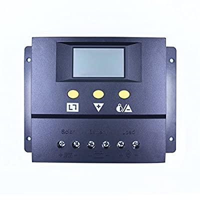 Y-SOLAR 60A/80A Solar Charge Controller 12V/24V Panel Battery Charge Controller