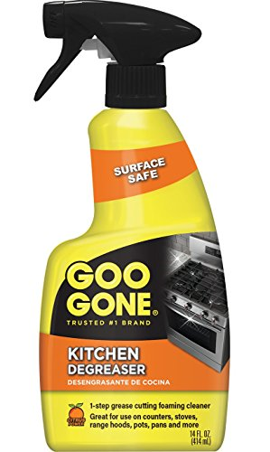 Goo Gone Kitchen Degreaser - Removes Kitchen Grease, Grime and Baked-on Food - 14 Fl. (Kitchen Grease)