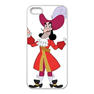 iPhone 4 4s Cell Phone Case White Disney Peter Pan Character Captain Hook