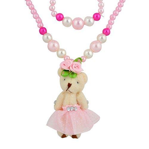 SMITCO Toddler Jewelry For Girls - Bear Stretch