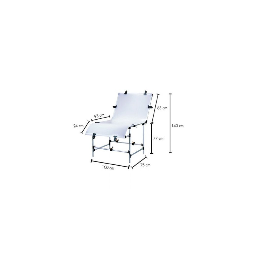 Linkstar B-1020 100 x 200 cm Photo Table