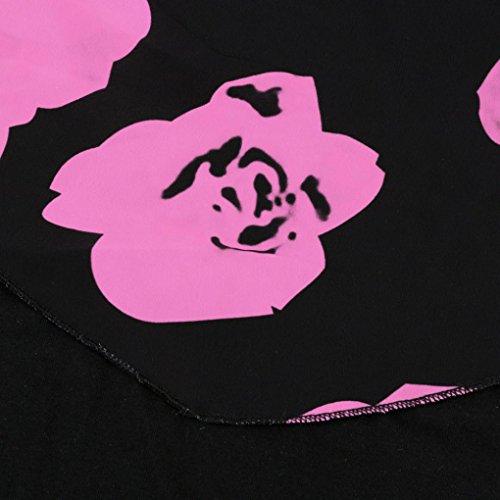 Taille Fille Grande Robe Femme Chic Pas Femme Vetements Vintage Robe de Mini Mode Soire Court Sans Robe Manche Rose Robe Dcontracte Femme Retro Cher AIMEE7 Ete Cocktail UwCRqTw