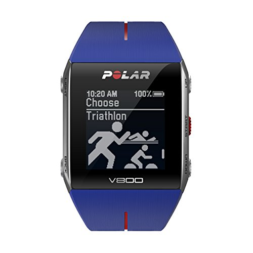 POLAR Unisex Adults V800 GPS Multi-Sports Watch