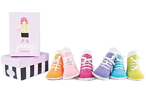 Trumpette Baby Shoes - Trumpette Jenny Sneakers Box Set, 0-12 Months, 6-Pairs