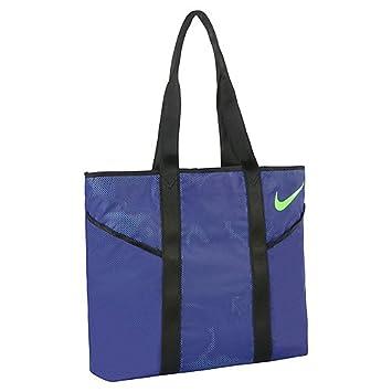 Nike womens azeda tote bag amazon sports outdoors nike women azeda tote bag deep nightblackvoltage green n publicscrutiny Choice Image