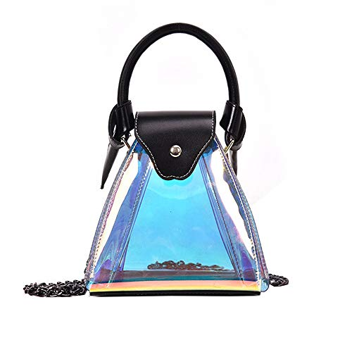 - Women Bags Hot Sale,TOTOD Fashion Colorful Laser Bright Purse Triangle Diagonal Cosmetic Shoulder Bag Waterproof