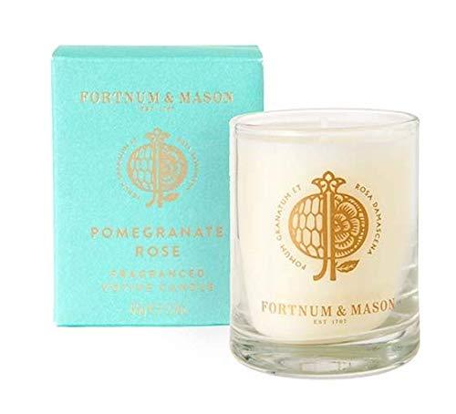 Fortnum and Mason Fortnum's Pomegranate Rose Votive Candle, 65g