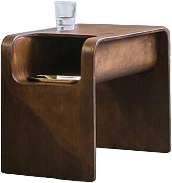 XIAOLIN 北欧ソファサイドテーブルモダンな小さなコーヒーテーブルリビングルームサイドキャビネット木製コーナーテーブル (Color : 02)