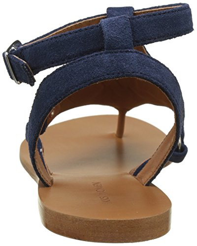 IKKS Broderies, Sandali con Cinturino alla Caviglia Donna Blu (Marine 49)