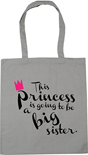big litres princess 42cm x38cm Grey a to 10 Light Shopping going is Beach HippoWarehouse Bag sister This be Gym Tote T5w0M6q