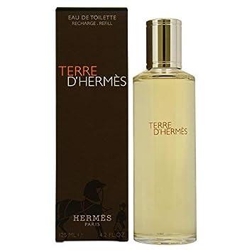 TERRE D HERMES edt vapo 125 ml recharge  Amazon.fr  Beauté et Parfum fdbfec511a6