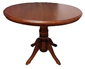 kitchen dining round table 40 solid wood and modern