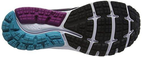 Noir de Running GTX 10 Blackpeacockbluehollyhock Chaussures Ghost 1b089 Femme Brooks w0nvBHq6xH